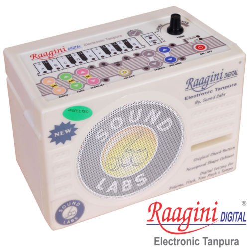 Ragini Raagini Electronic Digital Tanpura Tambura 2013 Edition with 5 YEAR WARRANTY! by Chopra