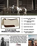 """5 Star Equine - 3/4"""" Thick Western Contoured All"""