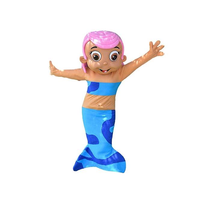 Amazon.com: Molly - Disfraz de sirena con burbujas para niña ...