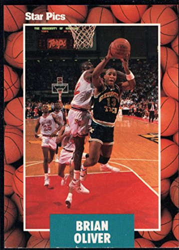 Basketball NBA 1990 Star Pics #58 Brian - Tech Jackets Yellow 1990 Georgia