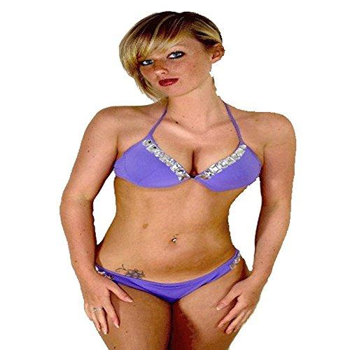 Lingerie 24-7 - Conjunto - para mujer Lilac