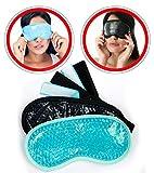 Cool Gel Eye Mask 2pcs - Cooling Masks Fof Puffy
