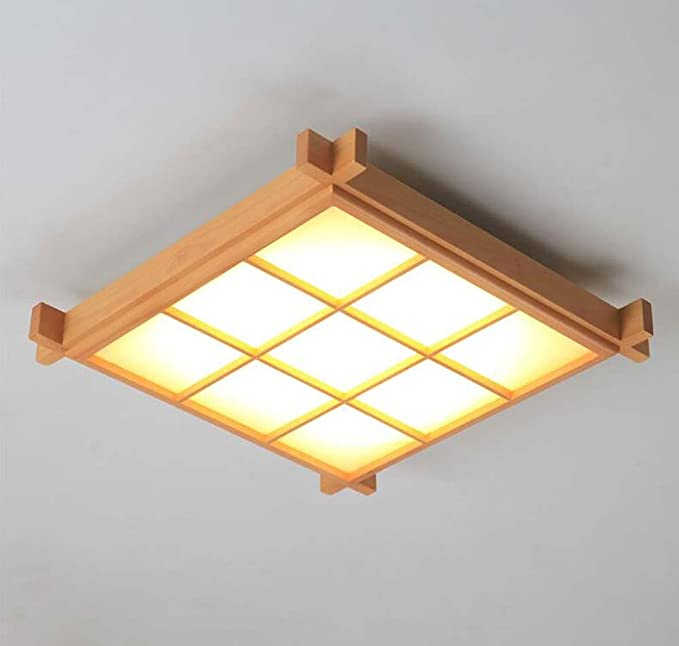 Amazon.com: LED Ceiling Lights, Japanese Style Simple 9 ...