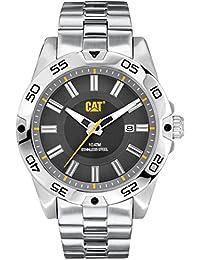 Caterpillar IN.141.11.525 Reloj Análogo de Lujo, para Hombre, gris y plata