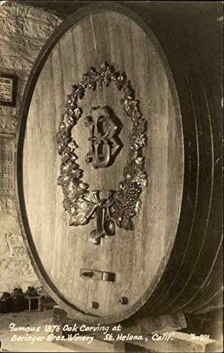 Beringer Bros. Winery Saint Helena, California Original Vintage Postcard ()