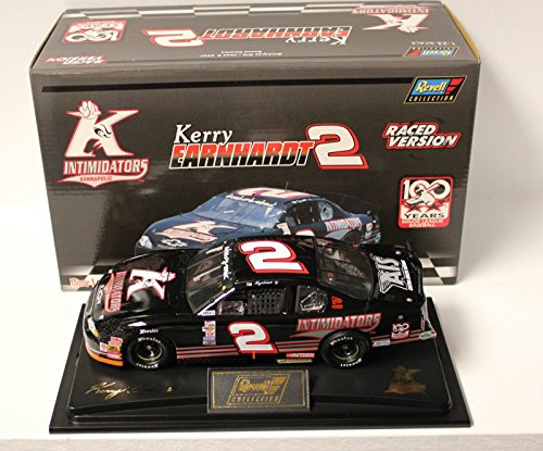 Michigan Raced Win Edition Revell Collectiion Kerry Earnhardt #2 Kannapolis Intimidators Minor League Baseball Paint Scheme Monte Carlo 1/24 Scale Diecast, Hood, Trunk Opens