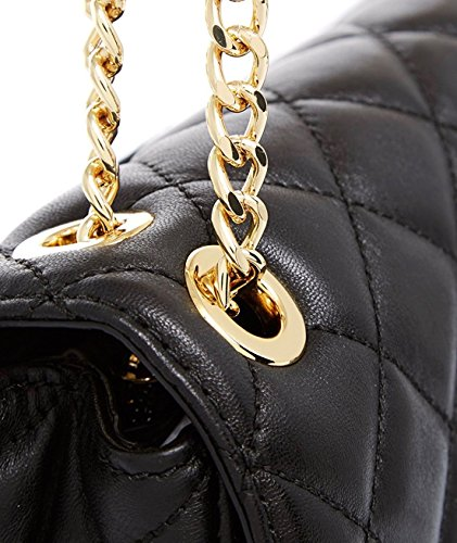 9199c3041 Michael Kors Sloan Extra Large Chain Shoulder Bag Quilted Leather  30T6GSLL4L Black: Amazon.ca: Shoes & Handbags
