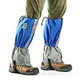 Bovon Hiking Gaiters Waterproof, Breathable Durable Snow Legging Cover Leg Gaiters for Outdoor Skiing Climbing Hunting and Walking