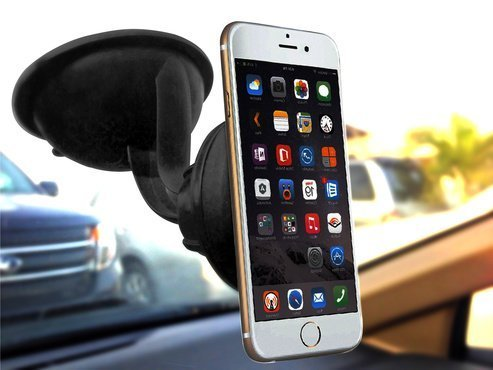 Amazon.com: Best Windshield Phone Holder By DENOTEK-Smartphone Car