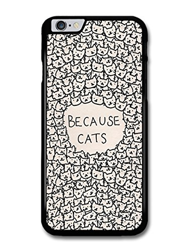 Funny Cute Cat Design Quote Stylish Illustration coque pour iPhone 6 Plus 6S Plus