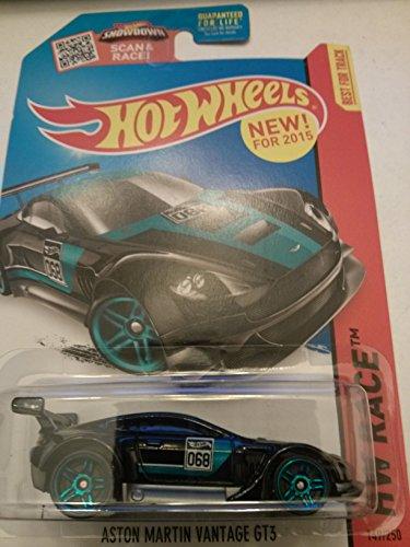 Hot Wheels HW Race Aston Martin Vantage GT3 149/250 Black/blue