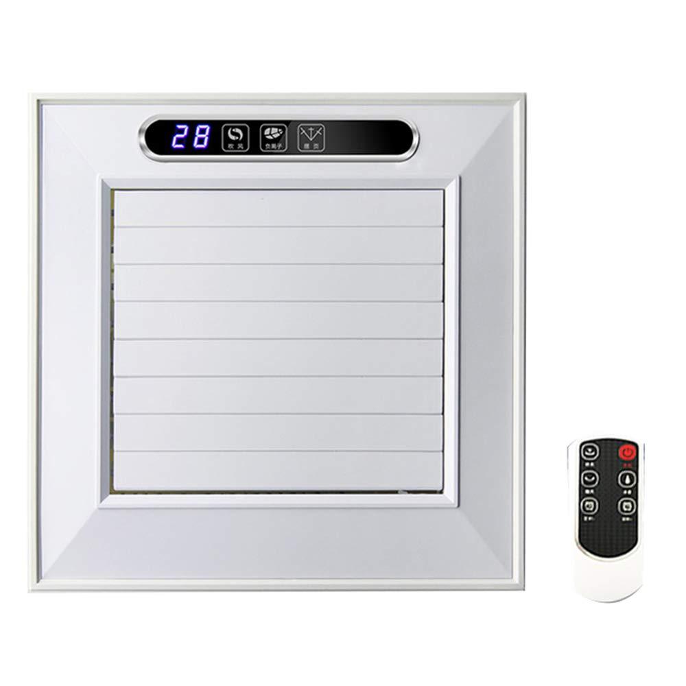 キッチン電動ファン、リモコン一体型天井冷却ファン、天井式冷却ファンZDDAB  White B07G48S6YB