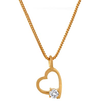 Buy voylla heart pendant with chain valentine gift online at low voylla heart pendant with chain valentine gift aloadofball Choice Image