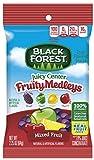 gummy fruit snacks bulk - Black Forest Fruit Snacks with Juicy Burst Centers, Fruit Medley, 2.25 Ounce Bag, Pack of 48
