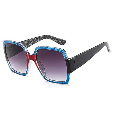 OHQ_Gafas De Sol Hombre Y Mujere Unisex Cuadradas Gafas De ...