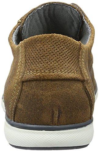 Mustang 4895-302-3, Zapatos de Cordones Derby para Hombre Marrón (3 Braun)