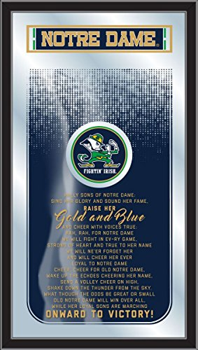 Holland Gameroom Notre Dame Fight Song Mirror