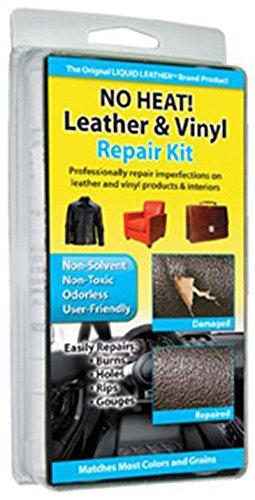 No Heat Liquid Leather & Vinyl Repair Kit Fix Holes Burns Rips (Plasma Vs Lcd Monitors)