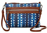 The Sak Hasley Mini Crossbody, Laguna Stripe, Small