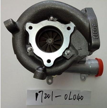 GOWE turbo cargador para cargador de Turbo Diesel CT16 V 17201 - 0L040 17201 - 30110 para Toyota Hilux 1 KD Motor (sin Electrical actuator): Amazon.es: ...