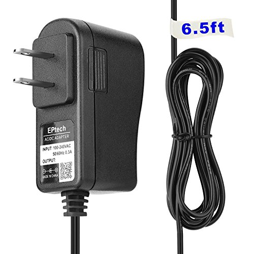 AC / DC Adapter Replacement Power Supply Cord Cable PS Wall Home Charger Mains PSU with OD: 5.5mm x ID: 2.5mm / ID: 2.1mm Tip (Rainforest Open Top Cradle Swing)