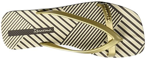 Ipanema Fashion Kirey Iv Fem, Chanclas para Mujer Mehrfarbig (beige/gold)