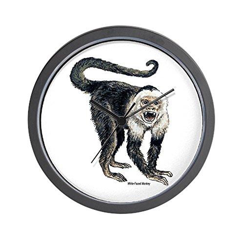 - CafePress White-Faced Monkey Wall Clock Unique Decorative 10