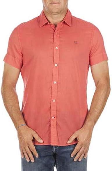 Napapijri Camisa M/M Hombre Goma: Amazon.es: Ropa y accesorios
