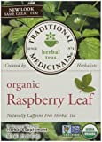 Traditional Medicinals Organic Raspberry Leaf Herbal Wrapped Tea Bags - 16 ct - 2 pk by Traditional Medicinals