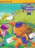 California Treasures Kindergarten Unit 6 Teacher's Edition