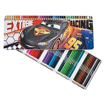 Recinto 50 Lápiz Color Cars Flash Mc Queen Extreme Dibujo