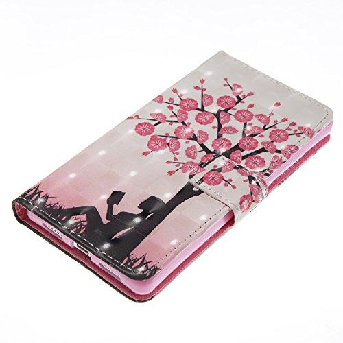 Protettiva Lite 03 Portafoglio Cover Huawei Chiusa Stand Case Pu Custodia In Magnetica P8 Bookstyle Pelle Per Flip Con p55wq6