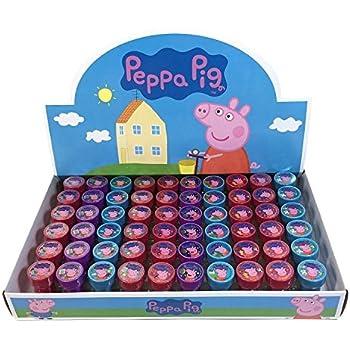 Amazon.com: 12 sellos de Peppa Pig para fiestas de ...