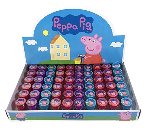Peppa pig 30x Stampers Self-inking Birthday Party Favors]()