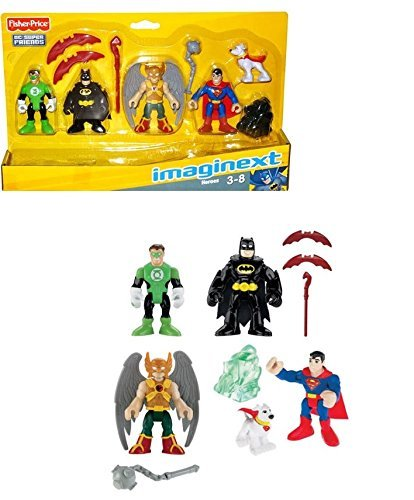 Super Friends Green Lantern (Fisher Price DC Super Friends Imaginext - HEROES - 3-Inch Mini Figure Set)