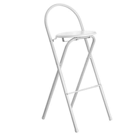 Sensational Amazon Com Hetao Simple Bar Chair High Chair Folding Chair Ibusinesslaw Wood Chair Design Ideas Ibusinesslaworg