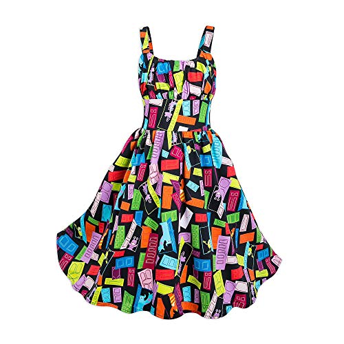 DisneyParks Monsters Inc. Dress for Girls (Medium) ()