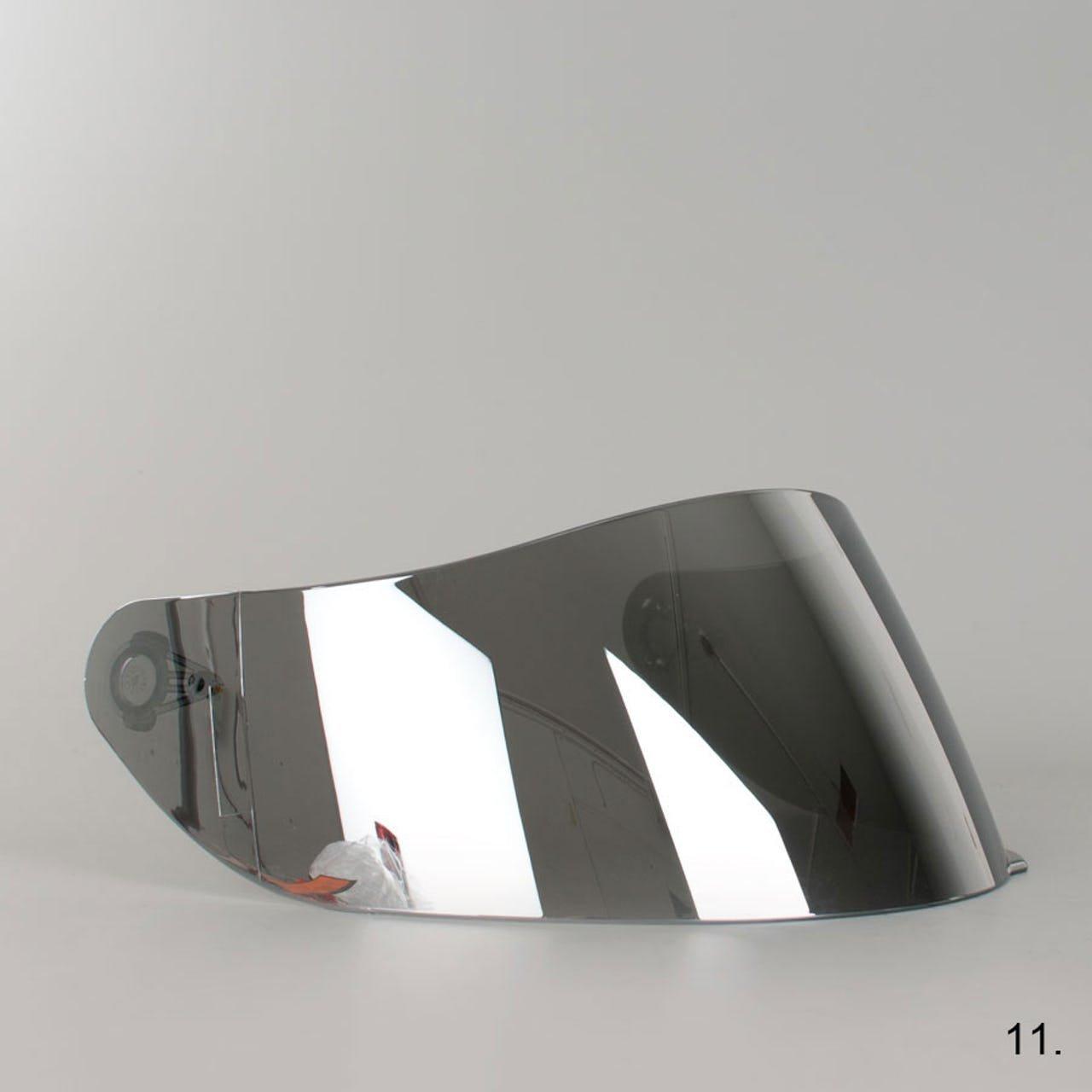 Visor Original Not Compatible AGV K3/SV K1/K5/K5-sv K5S Horizon Skyline Road NUMO GT-2/xxs-xs-s-ms-m-ml-l-xl-xxl TAGLIA UNICA Fume 50/%