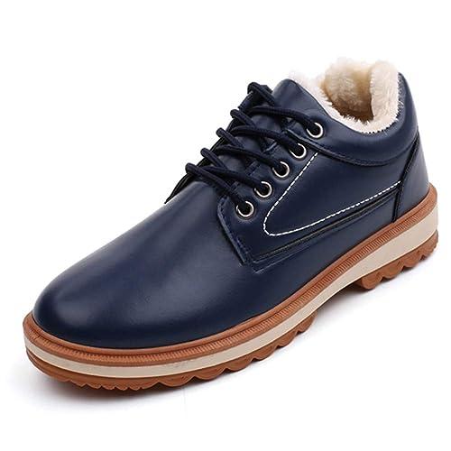 Botines para Hombre Otoño Botas para la Nieve a Prueba de Agua Ocio Martin Botas Zapatos para Hombre: Amazon.es: Zapatos y complementos