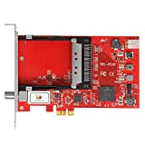 TBS 6528 Multi Standard TV Tuner Digital PCIe Satellite Card with CI Slot for live TV/ IPTV Server