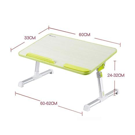 Mesa para Ordenador Plegable Soporte para Laptop Portátil de Aluminio,Mesa Plegable Ordenador, Mesa