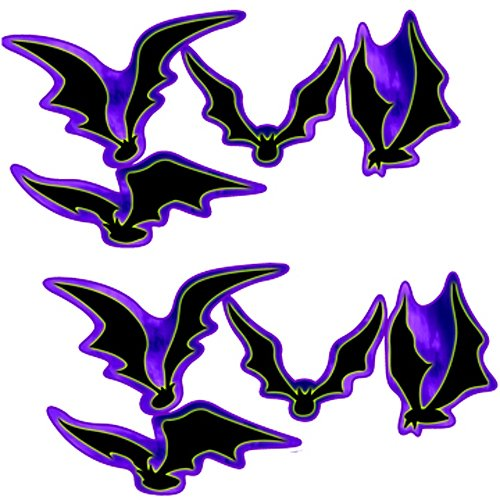11 in. to 18 in. Halloween Dying to Party Bat Cut Outs Standup Photo Booth Prop Background Backdrop Party Decoration Decor Scene Setter Cardboard Cutout ()