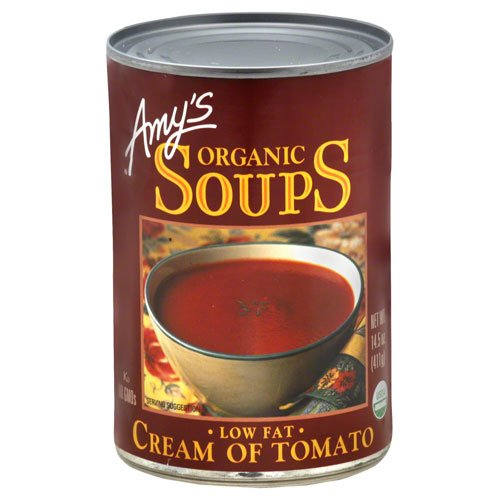 Amy's Organic Soup Low Fat Cream of Tomato -- 14.5 oz(PACK OF 6)
