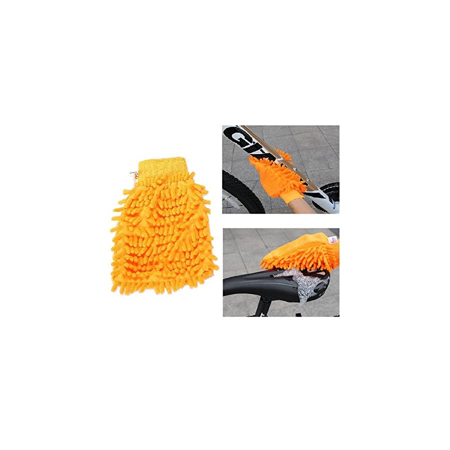 hybike Bicycle Clean Brush Kit/ Cleaning Tools for Bike Chain/Crank/Tire/Sprocket Cycling Corner Stain Dirt Clean, Fit All Bike