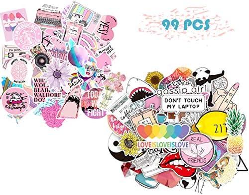 Amazon Com Xnfive Cute Stickers 99 Pcs Teen Kids Girls