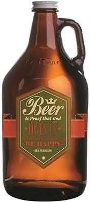 Juego de 2 cervezas a prueba de que Dios nos encanta y quiere ...