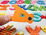 Dreaman Colorful Cute 26 Letters Wooden Cartoon Fridge Magnet kid's Baby Educational Toy