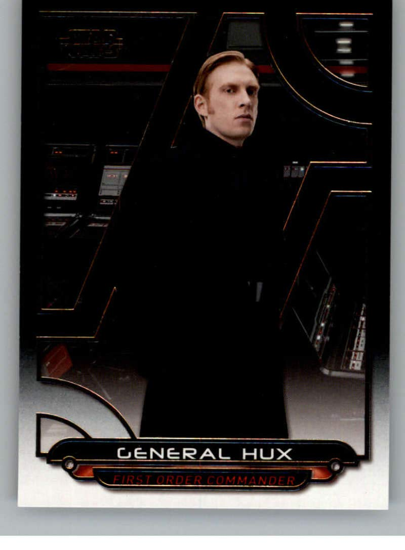 2018 Topps Star Wars Galactic Files #TLJ-11 General Hux
