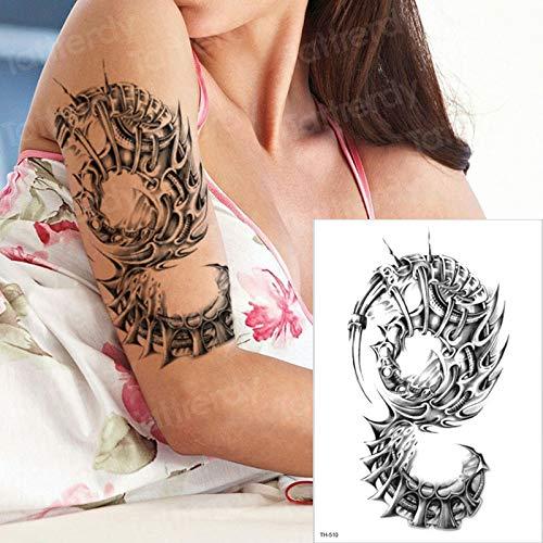 tzxdbh Tatuajes temporales Tatuajes 3D Falsos Hombres máquina ...