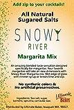 Snowy River Margarita Cocktail Salt - All Natural Cocktail Salt Rimmer (1x5lb Margarita Salt Bag)